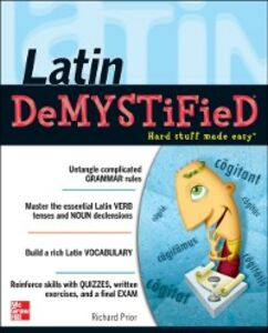 Ebook in inglese Latin Demystified Prior, Richard