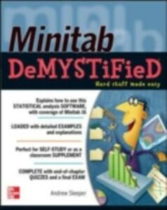 Ebook in inglese Minitab Demystified Sleeper, Andrew