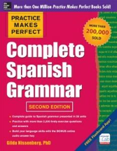 Ebook in inglese Practice Makes Perfect Complete Spanish Grammar Nissenberg, Gilda