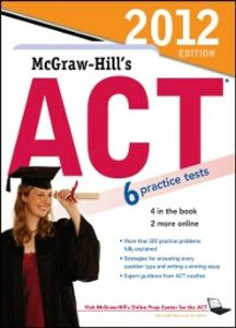 Ebook in inglese McGraw-Hill's ACT, 2012 Edition Dulan, Steven W.