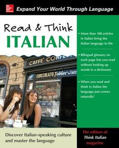 Ebook in inglese Read and Think Italian Magazine, The Editors of Think Italian!