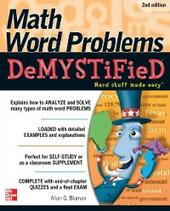 Math Word Problems Demystified 2/E
