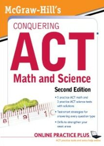 Ebook in inglese McGraw-Hill's Conquering the ACT Math and Science, 2nd Edition Dulan, Steven W.