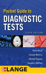 Pocket guide to diagnostic tests - copertina