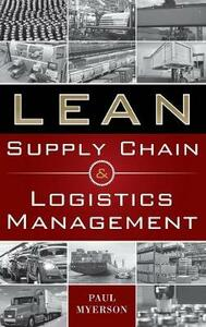 Lean supply chain and logistics management - Paul Myerson - copertina