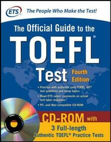Osteriacasadimare.it Official guide to TOEFL IBT. Con CD-ROM Image