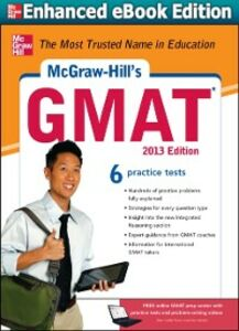 Ebook in inglese McGraw-Hill's GMAT, 2013 Edition Hackney, Ryan , Hasik, James , Rudnick, Stacey
