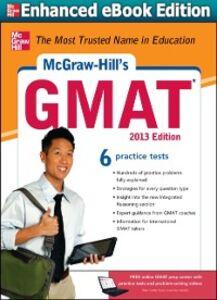 Foto Cover di McGraw-Hill's GMAT, 2013 Edition, Ebook inglese di AA.VV edito da McGraw-Hill Education