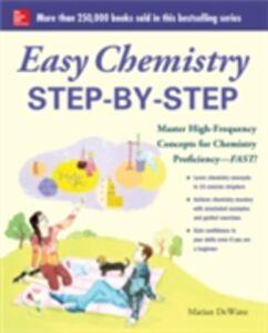 Ebook in inglese Easy Chemistry Step-by-Step DeWane, Marian