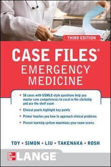 Case files emergency medicine - copertina
