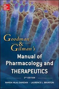 Libro Goodman & Gilman's manual of pharmacology and therapeut Hilal Dandan , Laurence Brunton