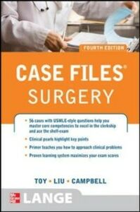 Ebook in inglese Case Files Surgery, Fourth Edition Campbell, Andre , Liu, Terrence , Toy, Eugene