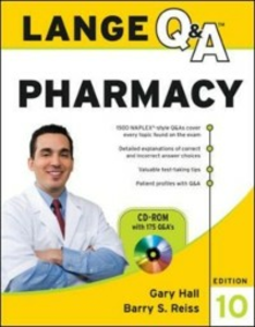 Ebook in inglese Lange Q&A Pharmacy, Tenth Edition Hall, Gary , Reiss, Barry