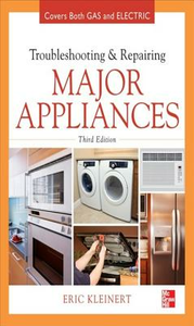 Ebook in inglese Troubleshooting and Repairing Major Appliances Kleinert, Eric
