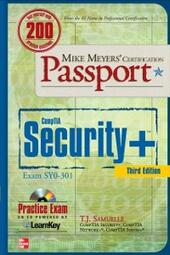 Mike Meyers'CompTIA Security+ Certification Passport, Third Edition (Exam SY0-301)