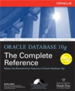Foto Cover di Oracle Database 10g The Complete Reference, Ebook inglese di Kevin Loney, edito da McGraw-Hill Education