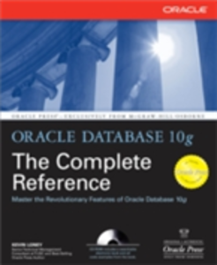 Ebook in inglese Oracle Database 10g The Complete Reference Loney, Kevin