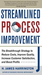 Ebook in inglese Streamlined Process Improvement Harrington, H. James