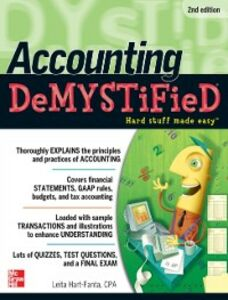 Foto Cover di Accounting DeMYSTiFieD, 2nd Edition, Ebook inglese di Leita Hart, edito da McGraw-Hill Education