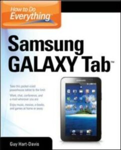 Ebook in inglese How to Do Everything Samsung Galaxy Tab Hart-Davis, Guy