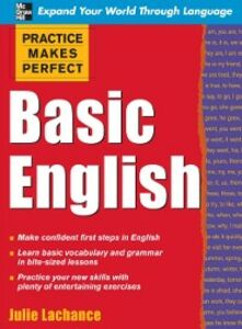 Ebook in inglese Practice Makes Perfect: Basic English Lachance, Julie