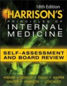 Ebook in inglese Harrisons Principles of Internal Medicine Self-Assessment and Board Review 18th Edition Braunwald, Eugene , Brown, Cynthia , Fauci, Anthony S. , Hauser, Stephen
