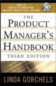 Ebook in inglese Product Managers Handbook, 3E Gorchels, Linda