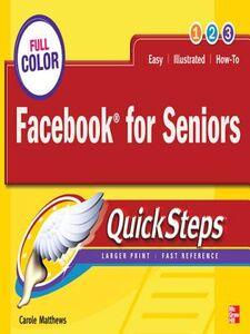 Ebook in inglese Facebook for Seniors QuickSteps Matthews, Carole