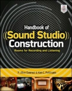 Ebook in inglese Handbook of Sound Studio Construction: Rooms for Recording and Listening Pohlmann, Ken