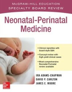 Ebook in inglese McGraw-Hill Specialty Board Review Neonatal-Perinatal Medicine Adams-Chapman, Ira , Carlton, David P. , Moore, James E.