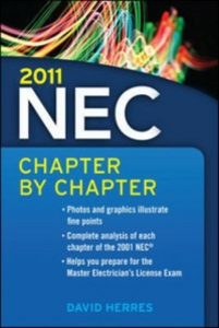 Ebook in inglese 2011 National Electrical Code Chapter-By-Chapter Herres, David
