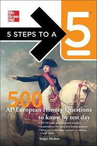 500 AP European History Questions to Know by Test Day - Sergei Alschen,Thomas A Editor - Evangelist - cover