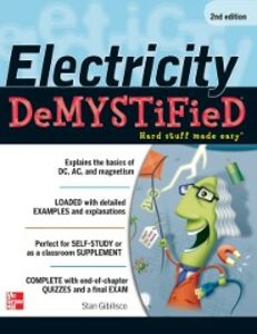 Ebook in inglese Electricity Demystified, Second Edition Gibilisco, Stan