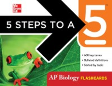 Ebook in inglese 5 Steps to a 5 AP Biology Flashcards Anestis, Mark