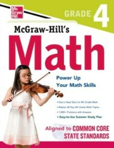 Ebook in inglese McGraw-Hill Math Grade 4 Education, McGraw-Hill