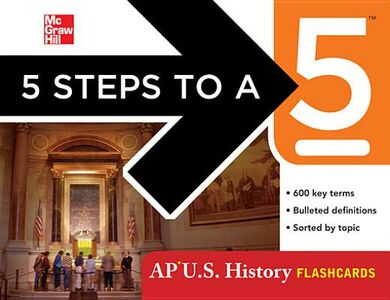 Ebook in inglese 5 Steps to a 5 AP U.S. History Flashcards Armstrong, Stephen