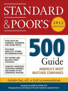 Ebook in inglese Standard and Poor's 500 Guide, 2012 Edition Standard & Poor', tandard & Poor's