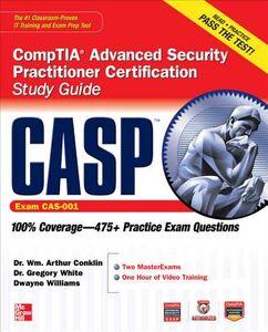 Foto Cover di CASP CompTIA Advanced Security Practitioner Certification Study Guide (Exam CAS-001), Ebook inglese di AA.VV edito da McGraw-Hill Education