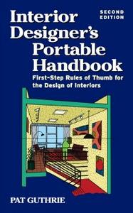 Ebook in inglese Interior Designer's Portable Handbook 2/E Guthrie, John Patten (Pat)