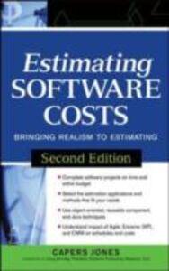 Ebook in inglese Estimating Software Costs Jones, Capers