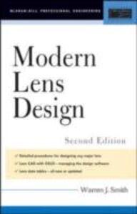 Ebook in inglese Modern Lens Design Smith, Warren J.