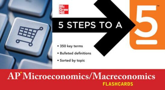 Ebook in inglese 5 Steps to a 5 AP Microeconomics/Macroeconomics Flashcards Dodge, Eric R.