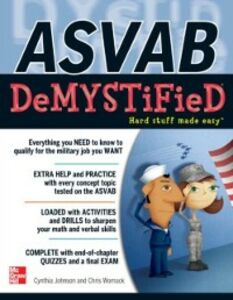 Ebook in inglese ASVAB DeMYSTiFieD Johnson, Cynthia