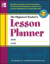 Organized Teacher's Lesson Planner