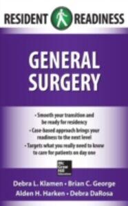 Foto Cover di Resident Readiness General Surgery, Ebook inglese di AA.VV edito da McGraw-Hill Education
