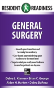 Ebook in inglese Resident Readiness General Surgery DaRosa, Debra , George, Brian , Harken, Alden , Klamen, Debra