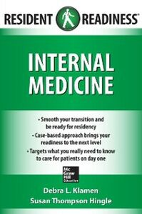 Foto Cover di Resident Readiness Internal Medicine, Ebook inglese di Susan Hingle,Debra Klamen, edito da McGraw-Hill Education