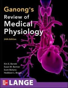 Ganong's review of medical physiology - copertina