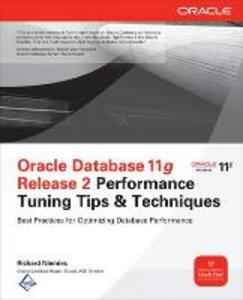 Libro Oracle database 11g release 2 performance tuning tips Richard J. Niemiec