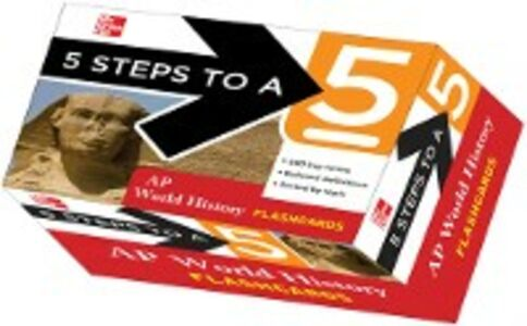 Ebook in inglese 5 Steps to a 5 AP World History Flashcards Martin, Peggy J.